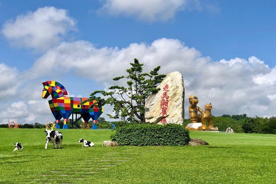【台南逗陣玩】走馬瀨農場、老塘湖藝術村、漁光島、入住老爺行旅二日